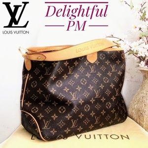 🆕Louis Vuitton Delightful PM Monogram Canvas Bag